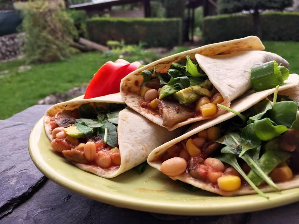 Zdravá večera - tortilly