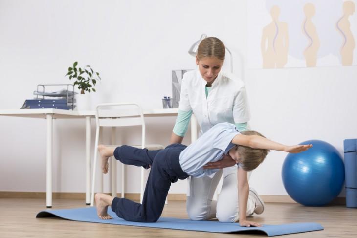 Cvičenie s fyzioterapeutom